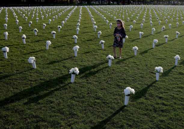DC: 40,000 Silk Flowers Installed On National Mall To Remember Victims Of Gun Violence