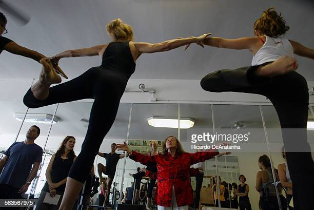 Eighty–one–year–old Romona Kryzanowska studied pilates with the source Joseph Pilates and continues to teach today at a Garland studio in Sherman Oaks