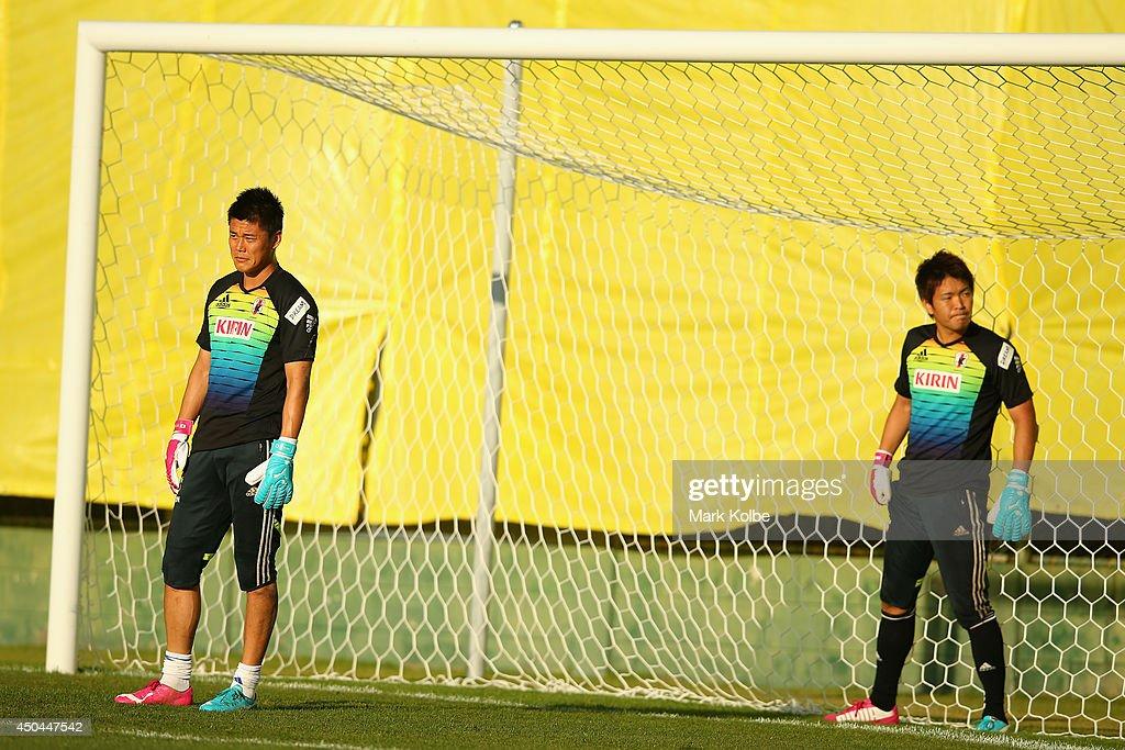 Japan Training Session : News Photo