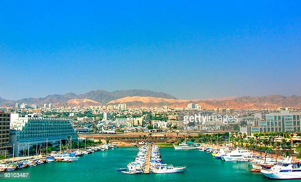 eilat  airport, israel - eilat stock pictures, royalty-free photos & images