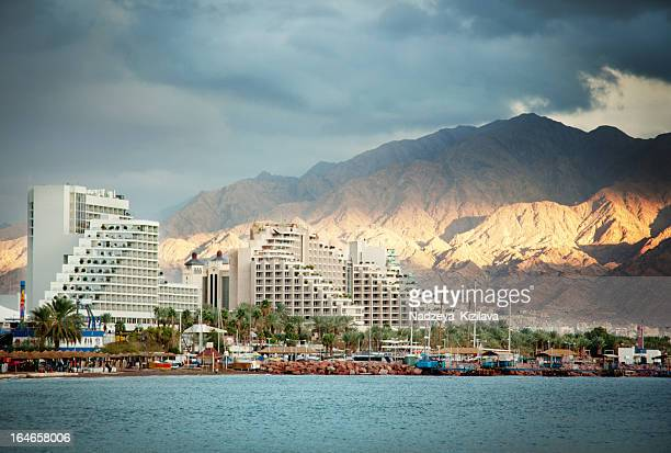Eilat at sunset