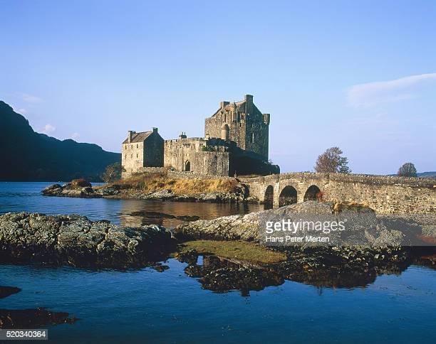 Eilean Donan Castle, Scotland, Highlands, Loch Duich