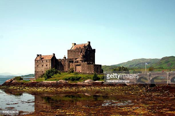 Eilean Donan Castle Scotland landmark UK