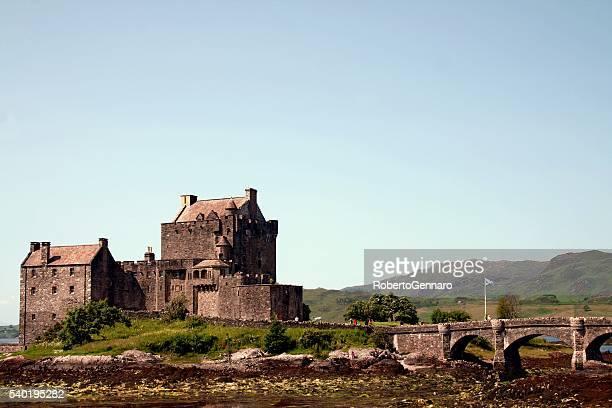Schloss Eilean Donan schottischen Wahrzeichen am Lake Duich