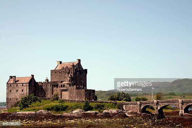 Eilean Donan Castle Scottish landmark on Lake Duich