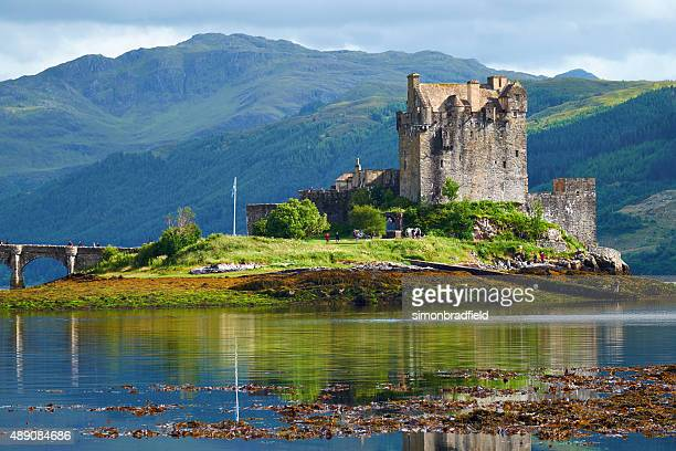 Eilean Donan In The Afternoon Sun