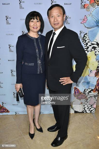 Eileen Cheng and Michael Cheng attend the 35th Annual Otis College Scholarship Benefit and Fashion Show at The Beverly Hilton Hotel on May 6 2017 in...