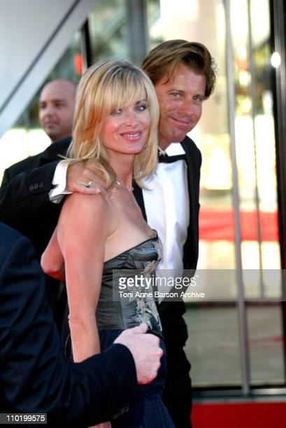 Eileen Davidson and husband Vincent Van Patten during 44th Monte Carlo Television Festival Closing Ceremony Arrivals at Grimaldi Forum in MonteCarlo...