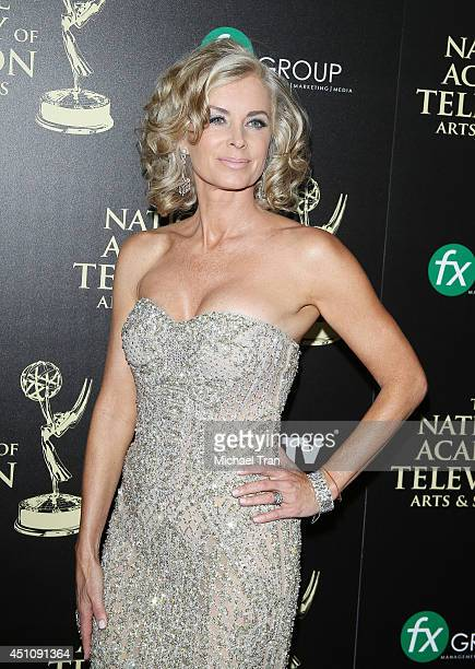 Eileen Davidson arrives at the 41st Annual Daytime Emmy Awards held at The Beverly Hilton Hotel on June 22 2014 in Beverly Hills California