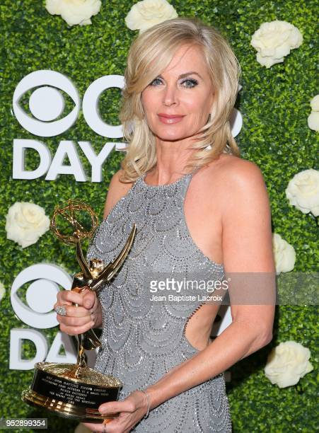 Eileen Davidson attends the CBS Daytime Emmy After Party on April 29 2018 in Pasadena California