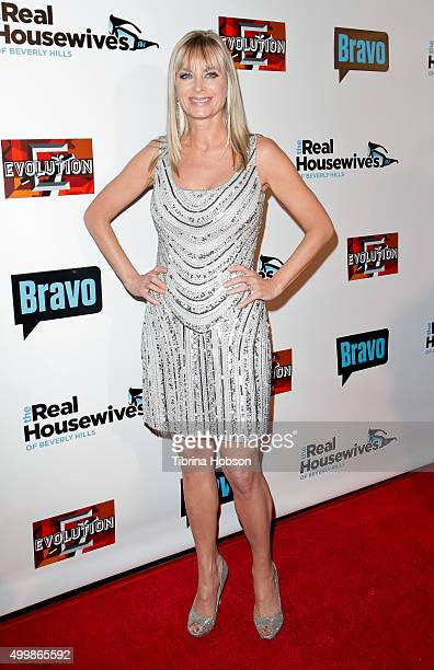Eileen Davidson attends the premiere party for Bravo's 'The Real Housewives Of Beverly Hills' season 6 at W Hollywood on December 3 2015 in Hollywood...