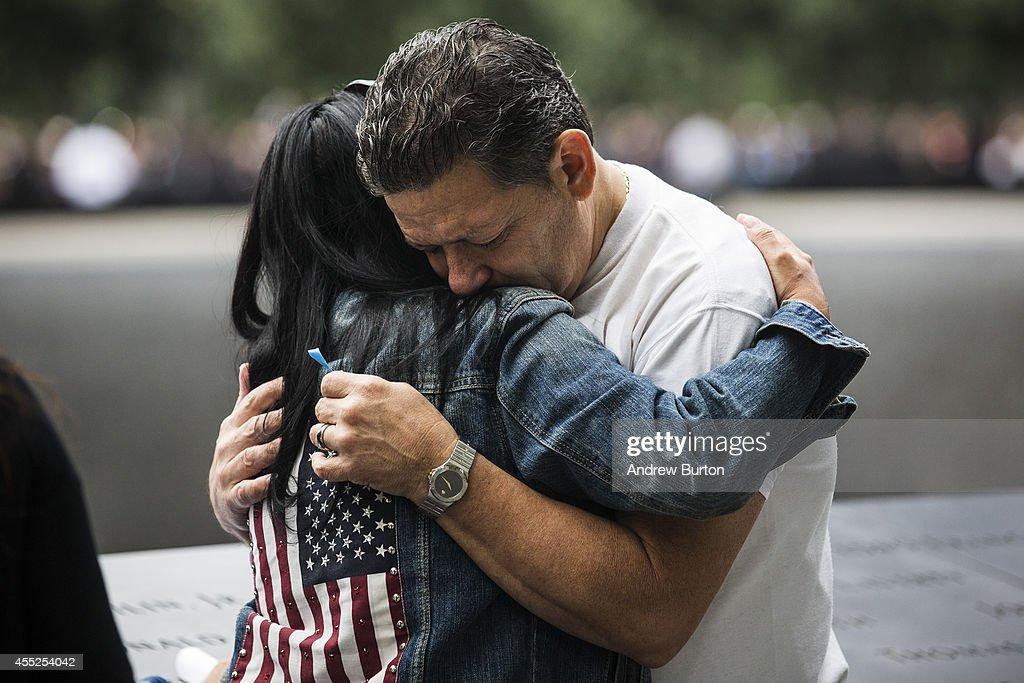 New York Commemorates 13th Anniversary Of September 11th Attacks : News Photo
