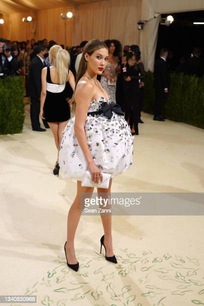 Eileen Gu attends 2021 Costume Institute Benefit - In America: A Lexicon of Fashion at the Metropolitan Museum of Art on September 13, 2021 in New...