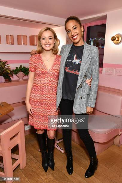 Eileen Kelly and Madison Utendahl attend the Trans Awareness Dinner at Pietro Nolita on March 13 2018 in New York City