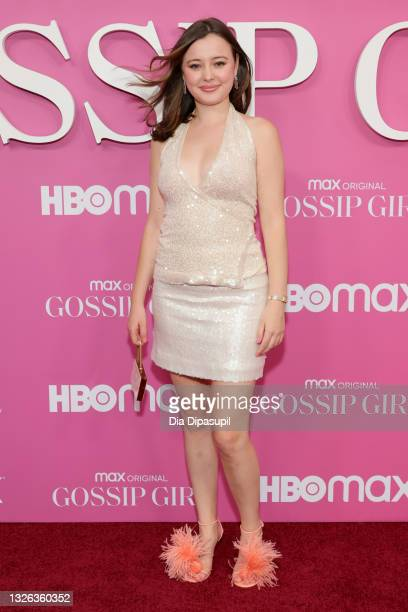 """Eileen Kelly attends the """"Gossip Girl"""" New York Premiere at Spring Studios on June 30, 2021 in New York City."""