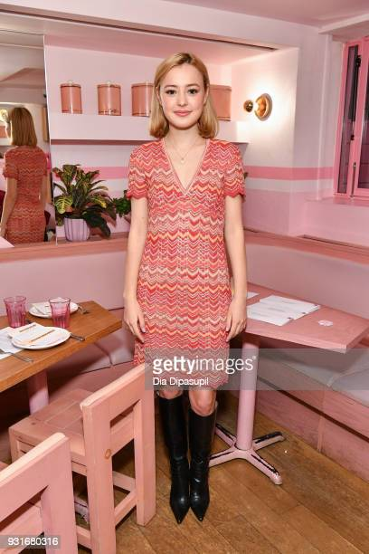 Eileen Kelly attends the Trans Awareness Dinner at Pietro Nolita on March 13 2018 in New York City