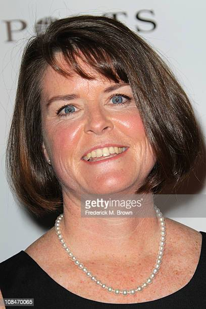 Eileen O'Neill Group President/Discovery Communication attends ELLE's Inaugural Women in Television Celebratory Dinner at the Soho House on January...