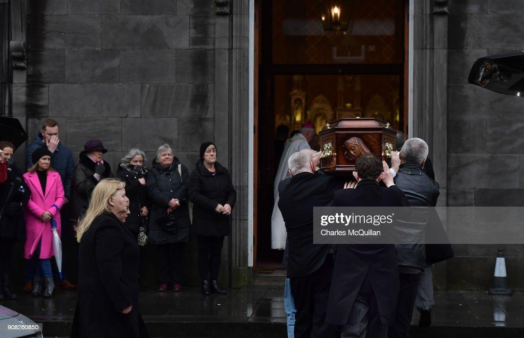 Cranberries Singer  Dolores O'Riordan Lies In Repose In Limerick