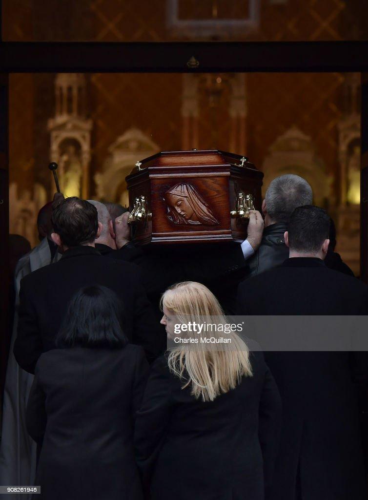 Dolores O'Riordan Lies In Repose