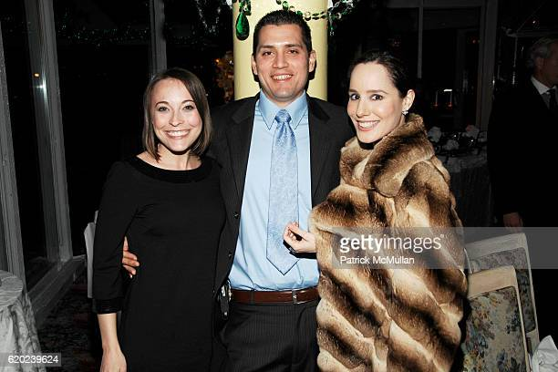 Eileen Palma Dr Douglas Palma and Pamela Fielder attend TRIBECA FILM INSTITUTE QUANTUM OF SOLACE Afterparty at Tavern on the Green on November 11...