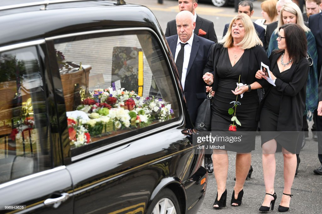 The Funeral Of Bay City Roller Alan Longmuir : News Photo