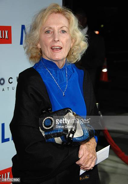 Eileen Ryan and mother of Sean Penn arrives at the Los Angeles Premiere of Milk at the Academy of Motion Pictures Arts and Sciences on November 13...