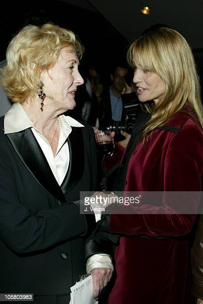 Eileen Ryan and Robin Wright Penn during 21 Grams Premiere After Party at Academy of Motion Pictures Arts and Sciences in Beverly Hills California...