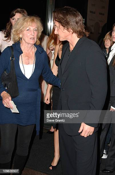 Eileen Ryan and Sean Penn during Glamour Reel Moments Short Film Series Presented by Cartier Arrivals at Director's Guild in Los Angeles California...
