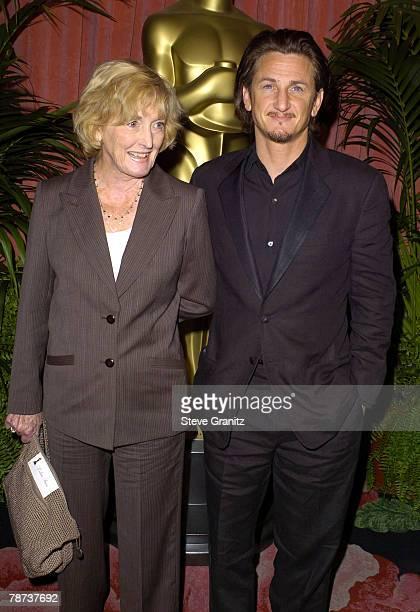 Eileen Ryan and son Sean Penn
