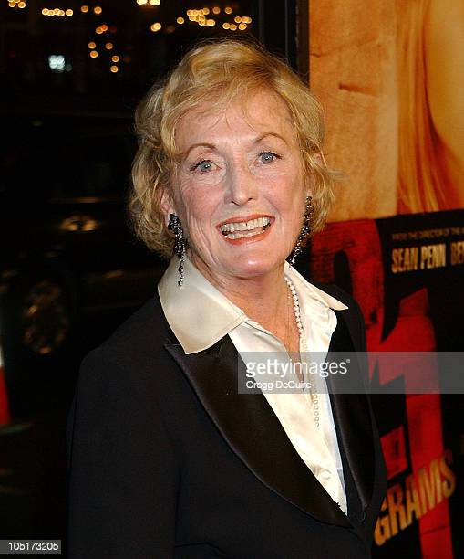 Eileen Ryan mother of Sean Penn during 21 Grams Los Angeles Premiere at Academy Theatre in Beverly Hills California United States