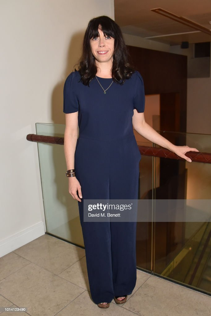 Eileen Walsh attends the press night after party for 'Aristocrats' at The Hospital Club on August 9, 2018 in London, England.