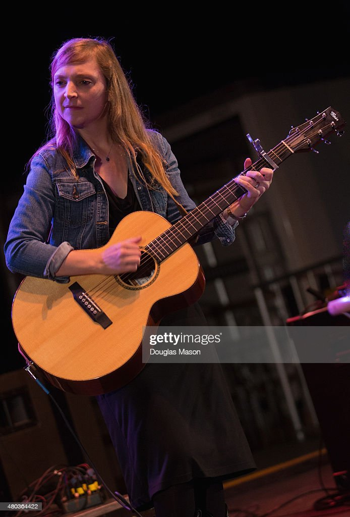 Eilen Jewell performs during the Green River Festival 2015 at Greenfield Community College on July 10, 2015 in Greenfield, Massachusetts.
