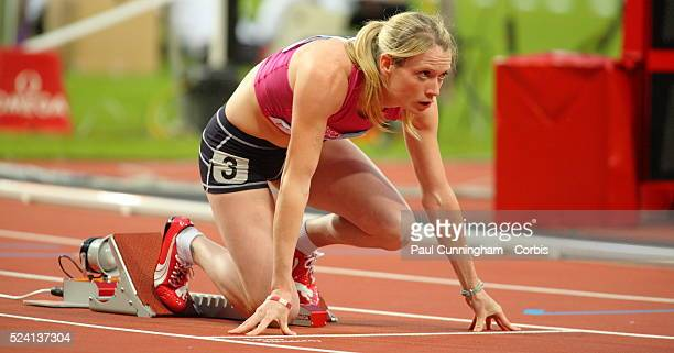 Eilidh Child of Great Britain competes at the British Universities Colleges Sport Visa Outdoor Athletics Championships at the Stadium London Olympic...