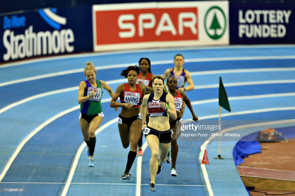 SPAR British Athletics Indoor Championships - Day One : News Photo