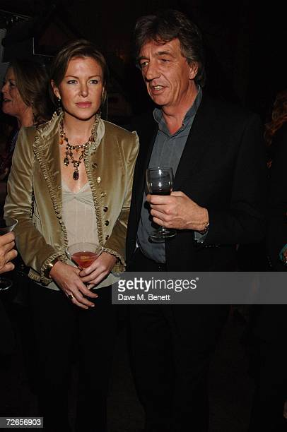 Eimear Montgomerie and Nick Cook attend Louise Fennell's 50th birthday party at the Collection on November 27 2006 in London England