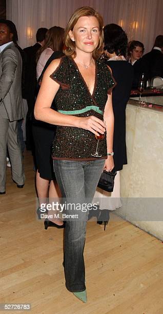 Eimear Montgomerie attends the LaurentPerrier Pink Party in aid of The Prince's Trust at the Sanderson Hotel on April 27 2005 in London