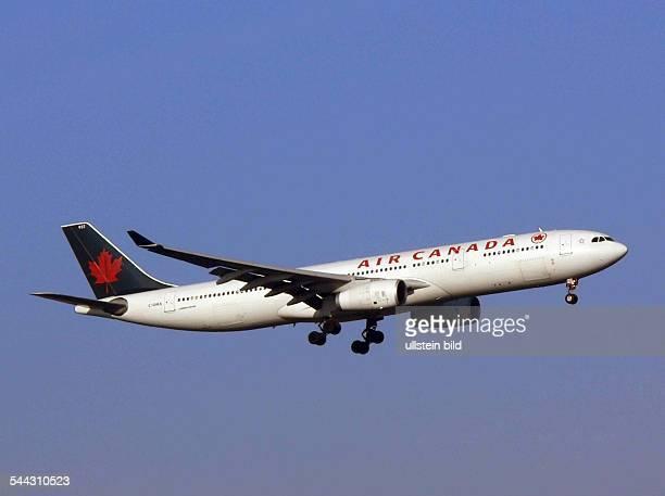 Ein Airbus A330 der kanadischen Fluggesellschaft Air Canada