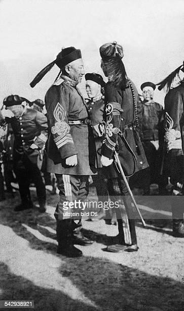 Ein General bei den letzten großen Manövern in Hochienfu undatiertveröffentlicht Nr 8/1906
