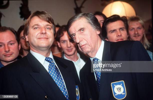 Ein idealer kandidat - Rainer Gebhardt wurde zum Gemeinderat gewählt und Bürgermeister Plaschek ernennt in zum Präsidenten des Altenberger...