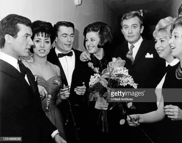 Ein Lied für Neapel deutscher Vorentscheid zum Grand Prix in Hamburg Deutschland 1965 Mitwirkende Peter Beil Angelina Monti Alain Barriere Ulla...