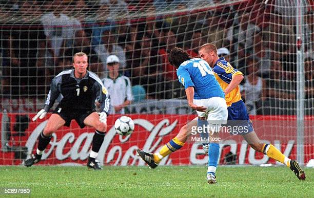 EURO 2000 Eindhoven ITALIEN SCHWEDEN 21 TOR zum 21 Alessandro DEL PIERO/ITA