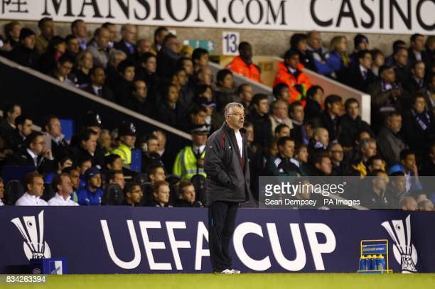 PSV Eindhoven manager Sef Vergoossen on the touchline during the match