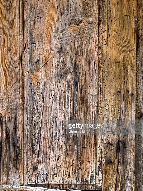 Eine alte Bretterwand als Hintergrund