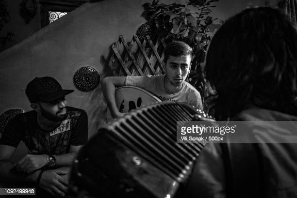 eine kleine nachtmusik - accordionist stock pictures, royalty-free photos & images
