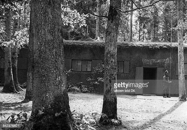 einer der Bunker im FHQ Rastenburg Haus 9der Gaestebunker 40ger Jahre Foto Heinrich Hoffmann