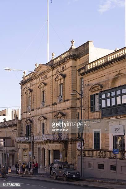 eines der beiden Opernhäuser in der Kleinstadt Rabat auf Gozo