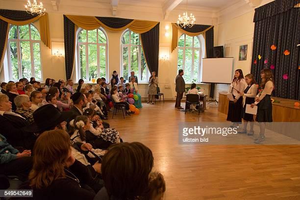 Einschulungsfeier der jüdischen Ohel Menahem Schule in Riga
