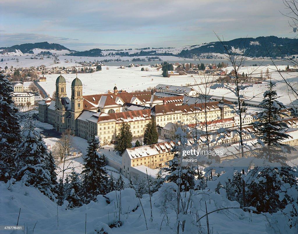Einsiedeln Abbey (Kloster Einsiedeln) : Stock-Foto