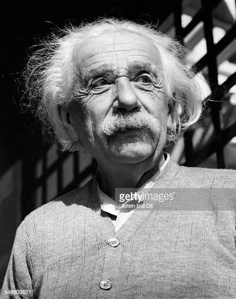 Einstein Albert physicist Germany/USA *14031879 1953 Published by 'Berliner Morgenpost' Vintage property of ullstein bild