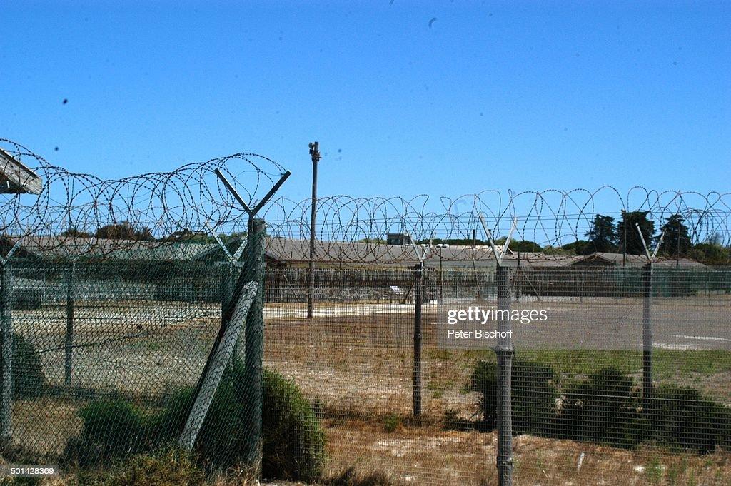 Einstiges Gefängnis auf \'Robben Island\' (dort verbrachte Nelson ...